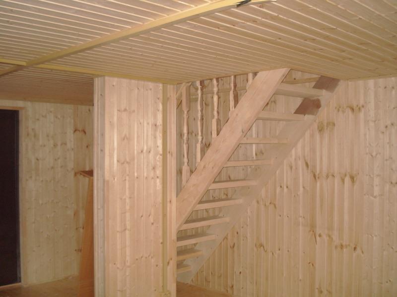 Вид на лестницу