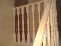 Вид с лестницы на мансарду
