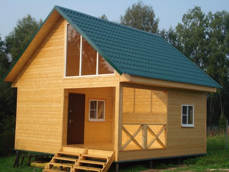 Проект дома из бруса 6 х 6 м