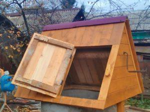 Доставка домика для колодца до участка в Ярославле договорная