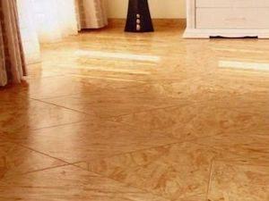 Плиты ОСП — лучшее покрытие для пола деревянного дома