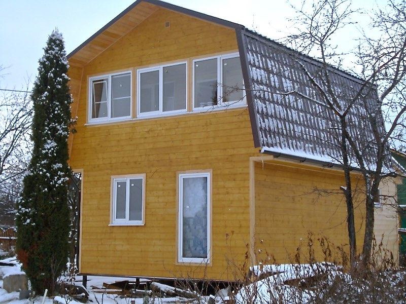 Проект дома из бруса 6 х 5 метров