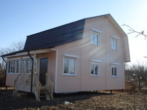 Жилой дом по каркасной технологии 114,5 м²
