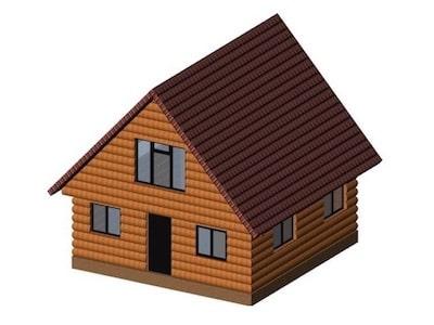 Каркасный дом с мансардой для постоянного проживания в Ярославле